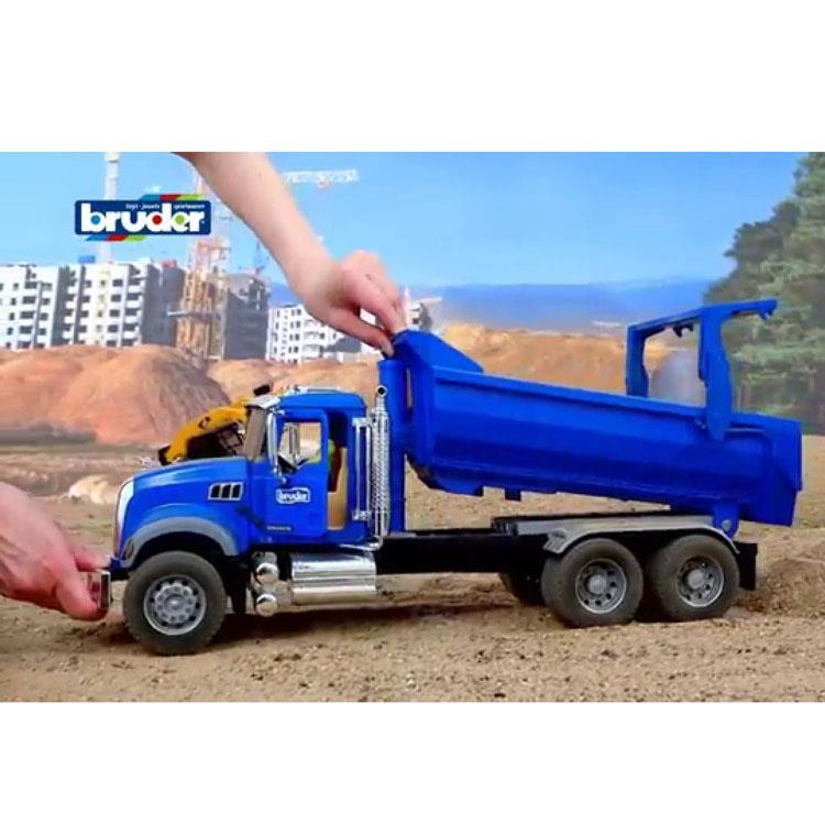 ماشین برودرmack Dump Truck فروشگاه اینترنتی اسباب بازی
